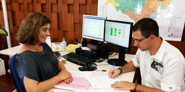 Emprego novo: entrada em exercício na Receita Federal